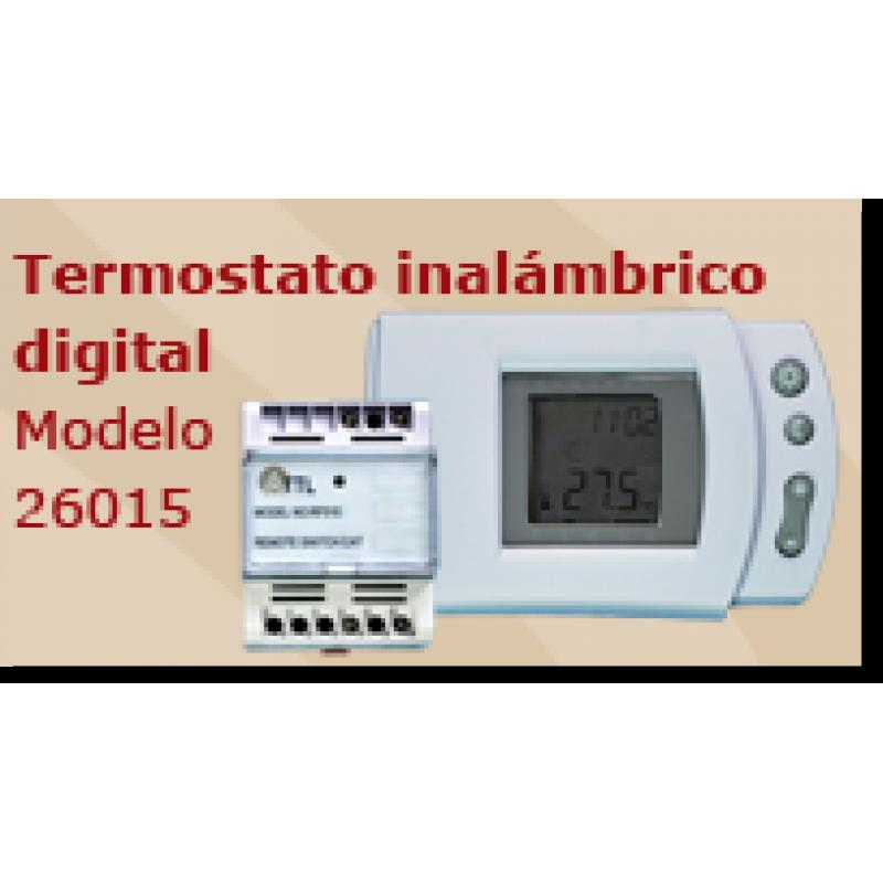 Termostato inalambrico digital para paneles - Termostato digital inalambrico ...
