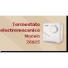 TERMOSTATO ELECTROMECANICO PARA PANELES